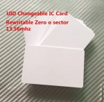 UID IC card 1K 13.56MHz readable writeable changeable smart Card