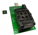 eMCP162 eMCP186 Test Socket Adapter to USB Interface FBGA162 FBGA186