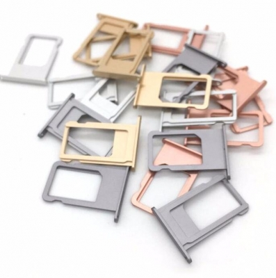 iPhone Nano SIM Card Tray Holder Slot Replacement for iPhone 7 6s 6 5