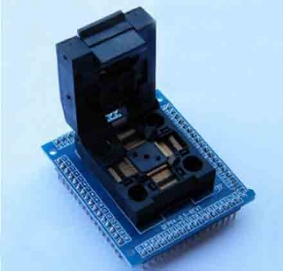 QFP64 to DIP64 64 pin adapter 0.5mm LQFP TQFP QFP64 IC Socket