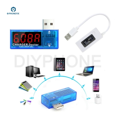 LCD USB Port Output Current and Output voltage Charger Tester Meter