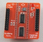 TSOP48 SOP44 SOP56 PCB Converter Adapter for TL866CS TL866A