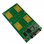 BGA152/132/88/100 to DIP48 / TSOP48 SSD Test PCB Board adapter