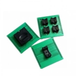 Specialized BGA127 memory ic socket for up818 up828