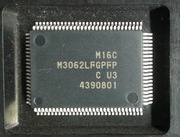 M3062LFGPFP car radio IC for Renesas M16C flash processor chip