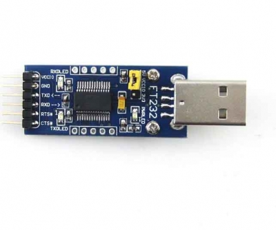 FT232 USB UART Board to RS232 RS485 Serial Converter Module Kit