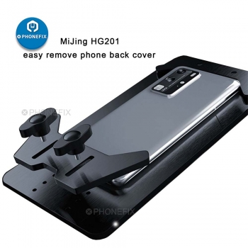 MJ HG201 Universal phone Back Cover Glass Removal Repair holder
