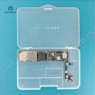 iPhone 6-X Motherboard Storage Box Organizer Case protect iphone PCB