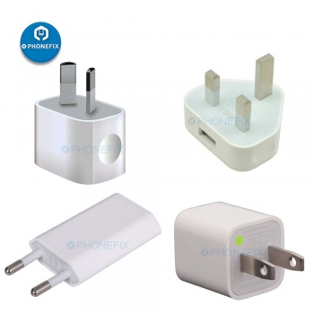 5W USB Power Adapter for Apple iphone USB Charger Plug