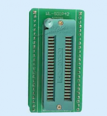 universal ZIP42 adapter SDIP42 to DIP42 pin ic socket