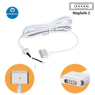 MagSafe 2 DC Power Cable with T-Style Connector 5 Pin DC Cord Cable