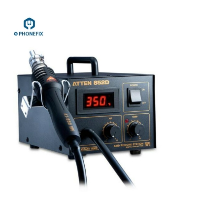 ATTEN AT852D SMD Solder Station 550W Hot Air Gun Rework station