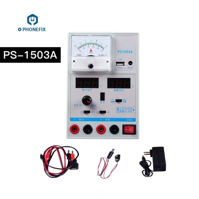 Smart PS-1503A 3A Adjustable DC Power Supply Mobile Phone Repair