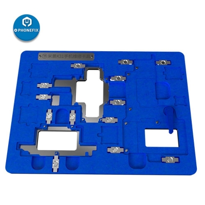 MJ K31 PCB Holder for iphone X-11 pro max BGA Reballing Positioning