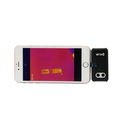 FLIR ONE PRO Thermal Camera Smartphone PCB Fault Diagnosis Assistant