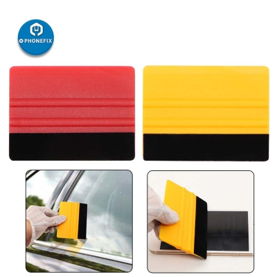 Plastic Durable Felt Edge Squeegee 4 Inch for Car Window Film