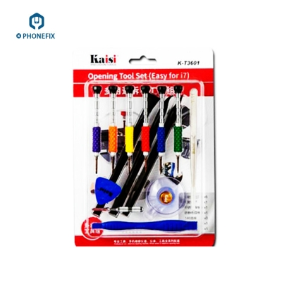 KT-3601 Multi-purpose opening tool set for iphone 7 7p Screwdriver Set [VC637]