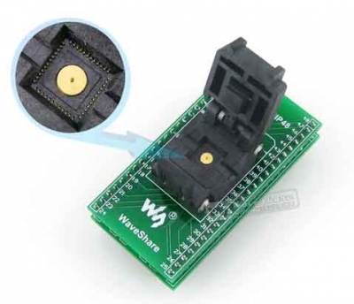 QFN40 TO DIP40 40 pin IC Socket QFN40 programmer adapter