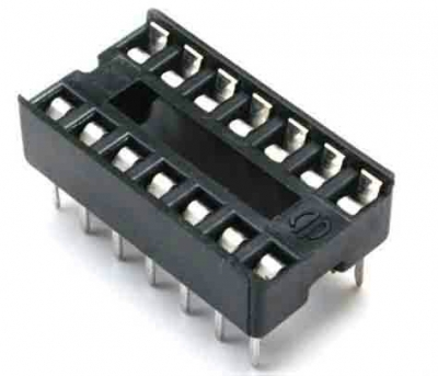 14-pin DIP IC socket 14 pin ZIF DIP IC Socket Solder Type