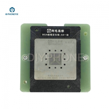 BGA Reballing Stencils for iPhone A10 A9 A8 CPU with Positioning Mold