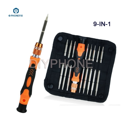 9 in 1 Two Ways Bit Multi function Screwdriver Electronics Repair Tool