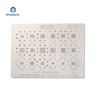 QCOM MT PM MAX MT Power IC BGA Reballing Stencils Template