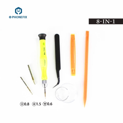 7392 Screwdriver Tool Set 8 IN 1 iPhone Samsung Opening Repair Tool