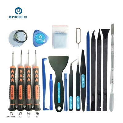 20 IN 1 Phone DIY Repair Opening Tool Kit iPhone iPad Disassembly