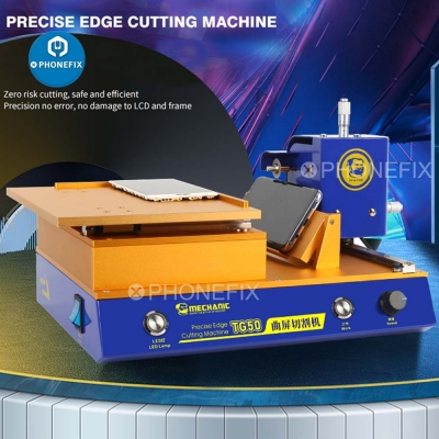 TG50 Precise edge cutting machine for Curved / Flat screen mid-frame