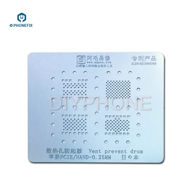 VIPFIX Apple all series NAND BGA Stencil Net for iphone 8 X 7 6S 6 5S