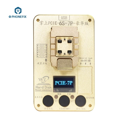 WL PCIE NAND Flash Programmer iphone 6S 7 7P NAND Test Fixture
