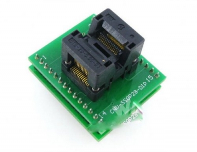 CNV SSOP28 to DIP28 chip adapter 28 pin tssop28 ic socket