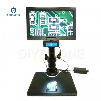Common 2D Integrated Digital Microscope With 10.6 Inch Display Phone Repair