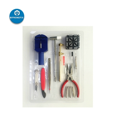 16pcs simple watch opening repair tool watchmaker hand tools sets
