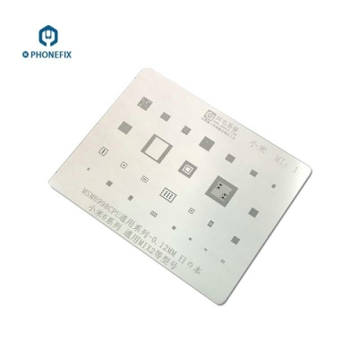 AMAO Xiaomi Mobile phone All Series BGA Reballing Stencil Template