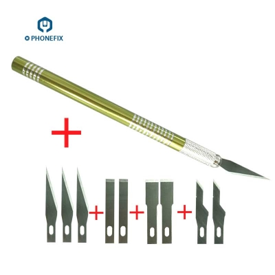 VIPFIX Mobile Phone Motherboard Repair Cutting Knife with 4 kinds Blades