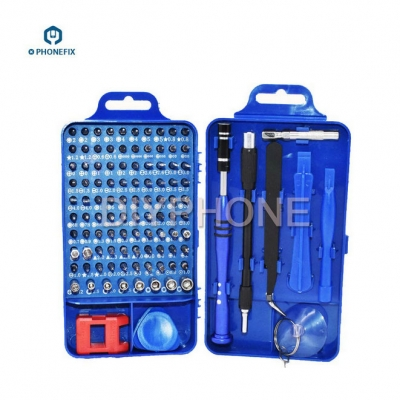 phone repair opening Screwdriver hand tool set with Multi Bit Driver Kit