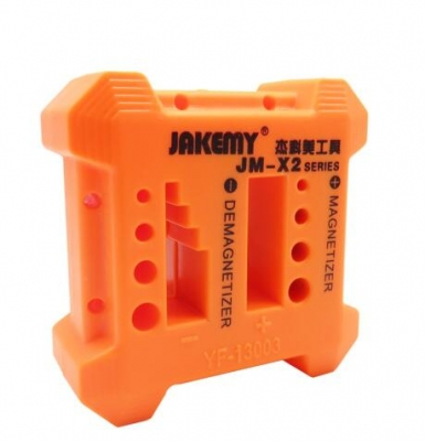 JM-X2 2-IN-1 Magnetizer Demagnetizer Screwdriver Magnetic Degaussing