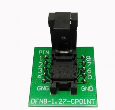 DFN8 programming adapter 6×8 1.27mm QFN8 socket adapter