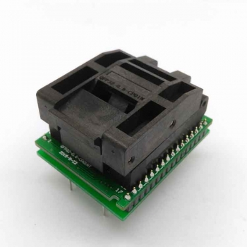 QFP32 to DIP32 32 pin ic test socket PQFP32 programmer adapter