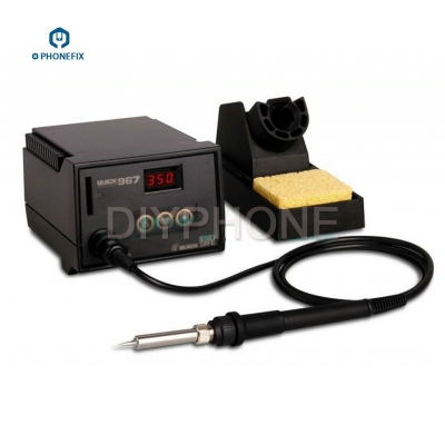 QUICK 967 digital temperature soldering station anti-static ESD soldering station