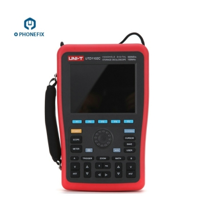 UNI-T UTD1102C Handheld Digital Oscilloscopes 2 Channel 100MHz