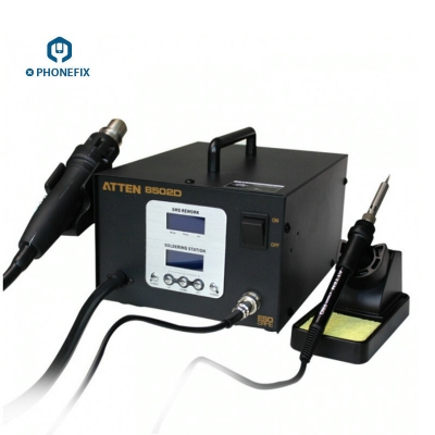 ATTEN 8502D intelligent soldering station and hot-air rework station