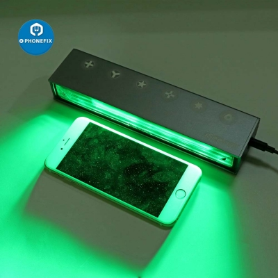 QianLi iSee Dust Scanner Light Detection Lamp Phone Screen Repair
