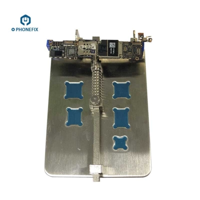 Metal phone PCB Board Holder Fixture iphone Jig Fixture Work Station
