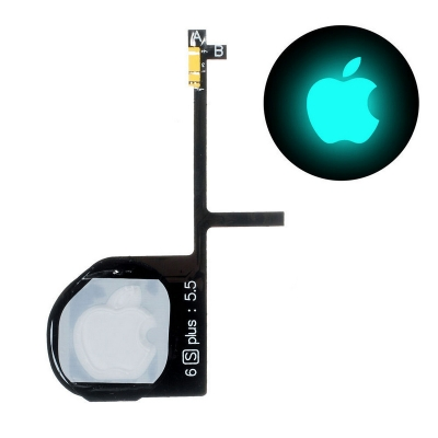 iphone back logo night glow lamp Flex Cable for iphone 6 6P 6S 7 7P