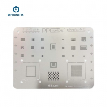 VIPFIX High Quality BGA Reballing Stencils for iPhone 5S 6 6P 6S 7