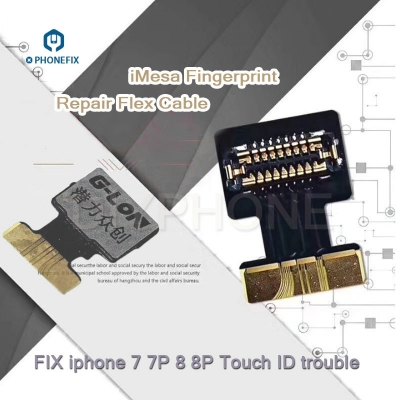 iMesa Fingerprint Repair Flex cable iphone 7 8 Touch ID Repair Flex Cable
