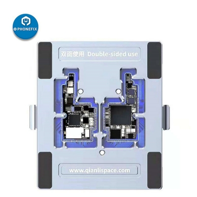 QianLi double sided iSocket for iphone X diagnosis layering repair platform