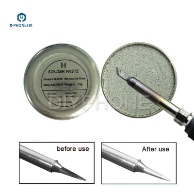 refresher solder paste cream for solder iron tip head resurrection assistant